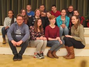 Team-Weihnachtfeier Dezember 2015