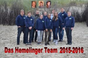 Hemelinger Team 2015-2016