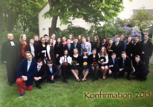 Konfirmation in Hemelingen 2015