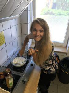 Granzow 2018 - bei uns kocht und wirbelt Lisa in der Küche ...! :-)