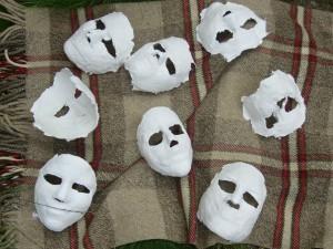 Gipsmasken