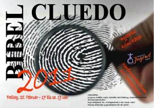 Cluedo-Plakat 2011