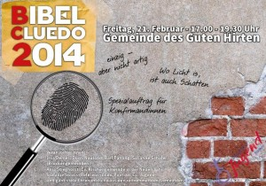 Cluedo-Plakat 2014