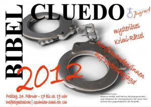 Cluedo-Plakat 2012